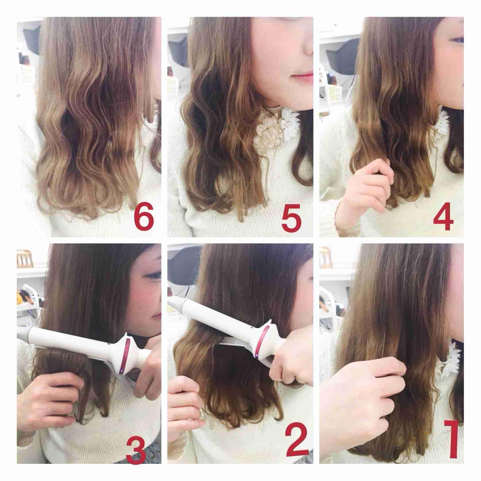 巻き髪する人どんな巻き方?