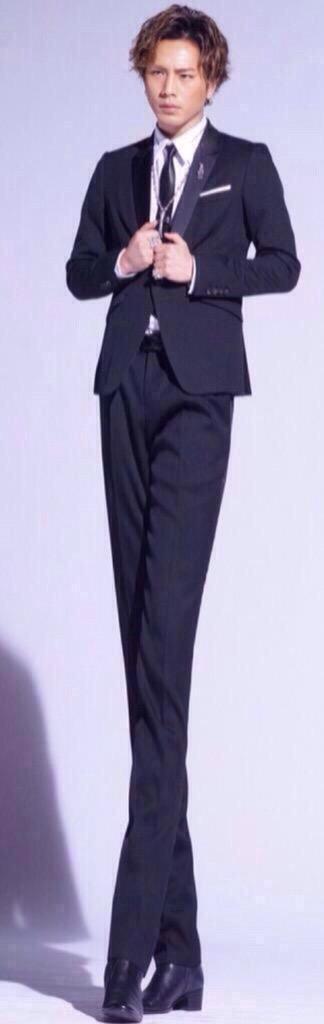 身長が高い人のファッション