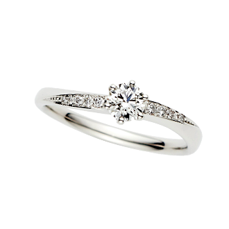 婚約指輪・結婚指輪を貼るトピ!