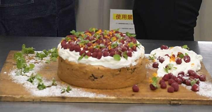 """速水もこみち、天海祐希に手作りケーキで""""逆バレンタイン"""" 「オリーブオイルは入ってる?」とツッコミも"""