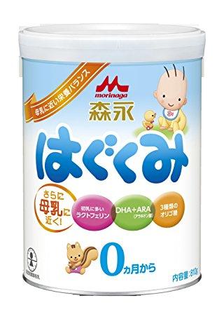 赤ちゃんの粉ミルク