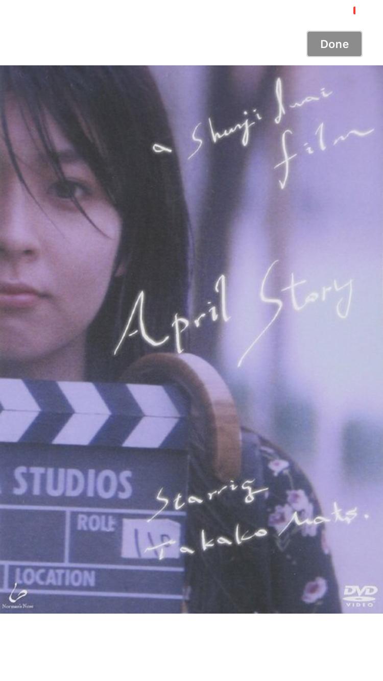 岩井俊二映画を語る。