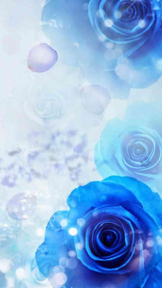 青系の綺麗な画像