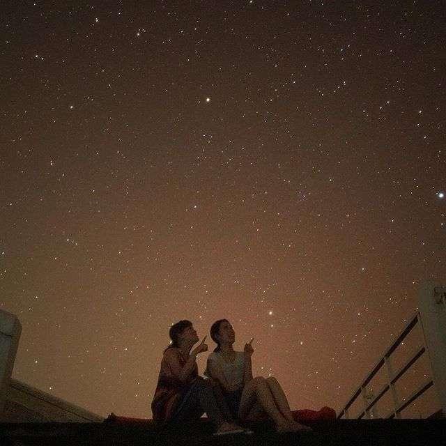 星空の画像を貼って癒されるトピ