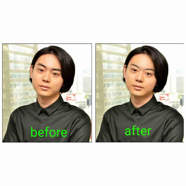 菅田将暉  眉毛で大きく印象が変わる!!芸能人の顔で試して