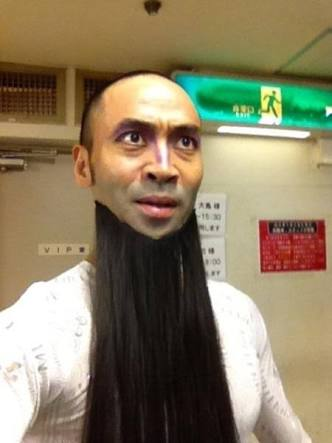 お髭が似合う男性がすきな方