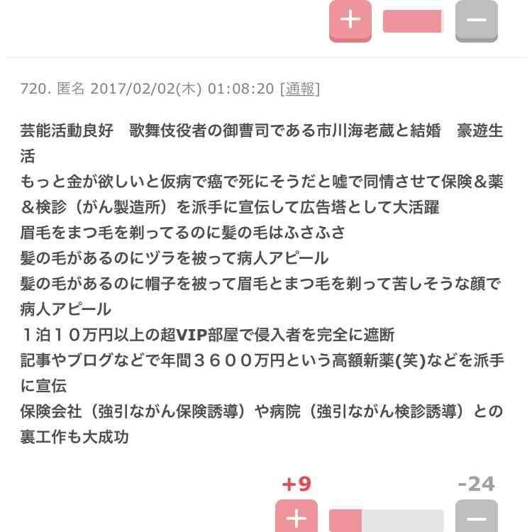 小林麻央 夫・市川海老蔵の舞台観劇…がん公表後初