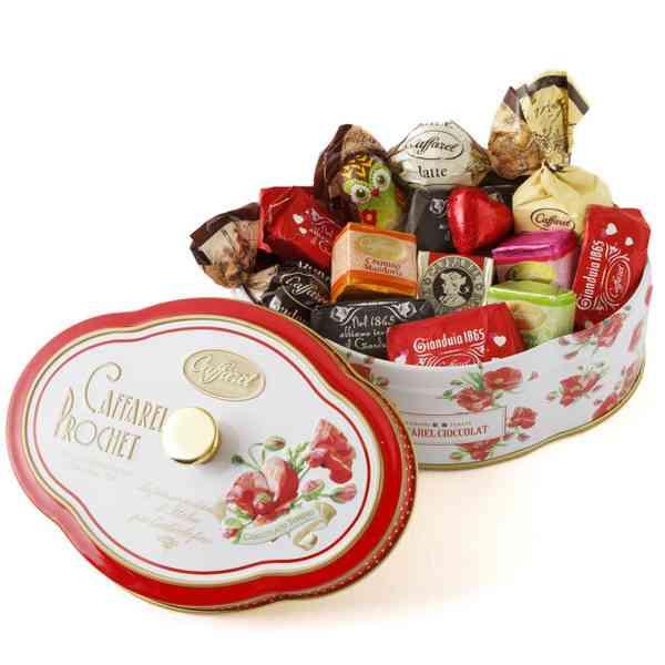 ケースが素敵、可愛いバレンタインチョコ