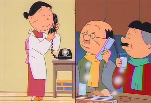電話している画像貼ろう