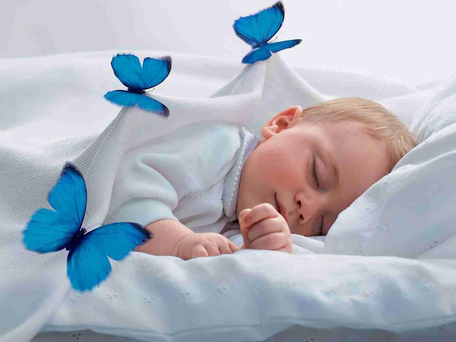 幼児の就寝前