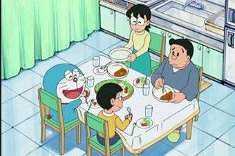 楽しく食事してるシーンが見たい!