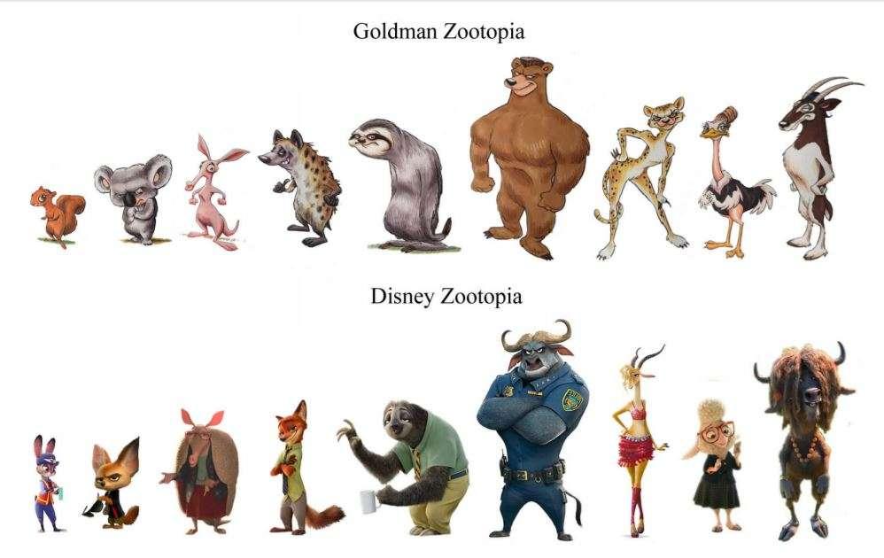 米ハリウッドの脚本家、「ズートピア」は盗作とディズニーを訴え