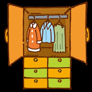 洋服たんす、どんなものを使ってますか?