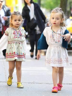双子の有名人画像