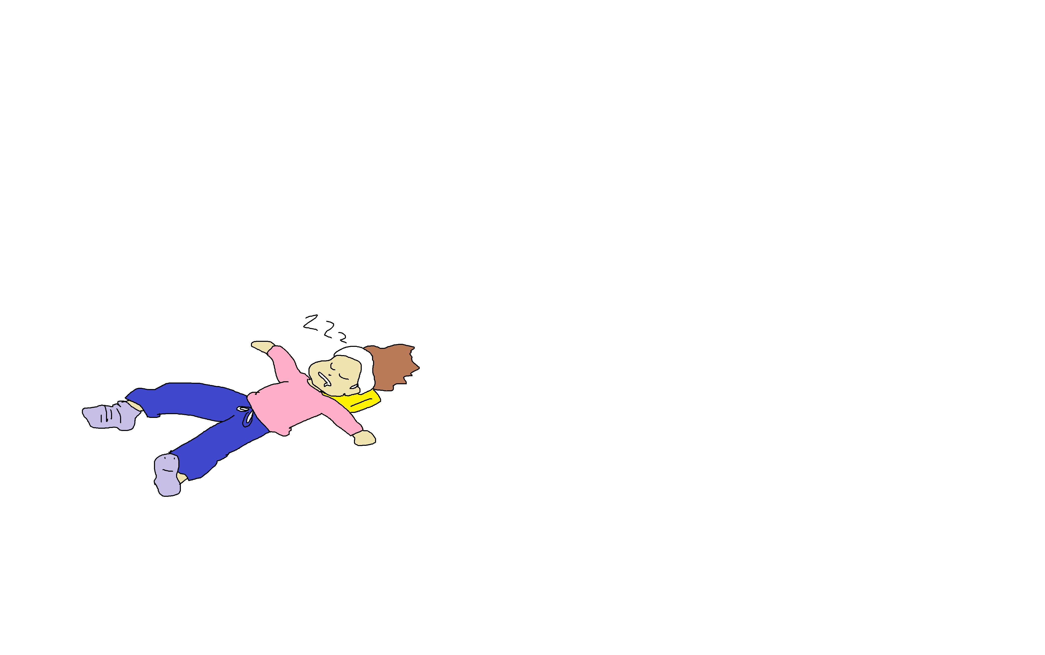 三連休の過ごし方を絵に描こう!