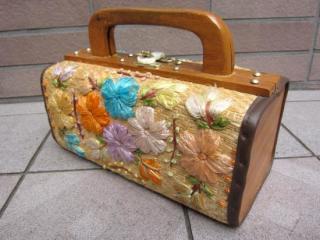 かわいいかごバッグ