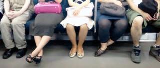 ひざ閉じていますか?