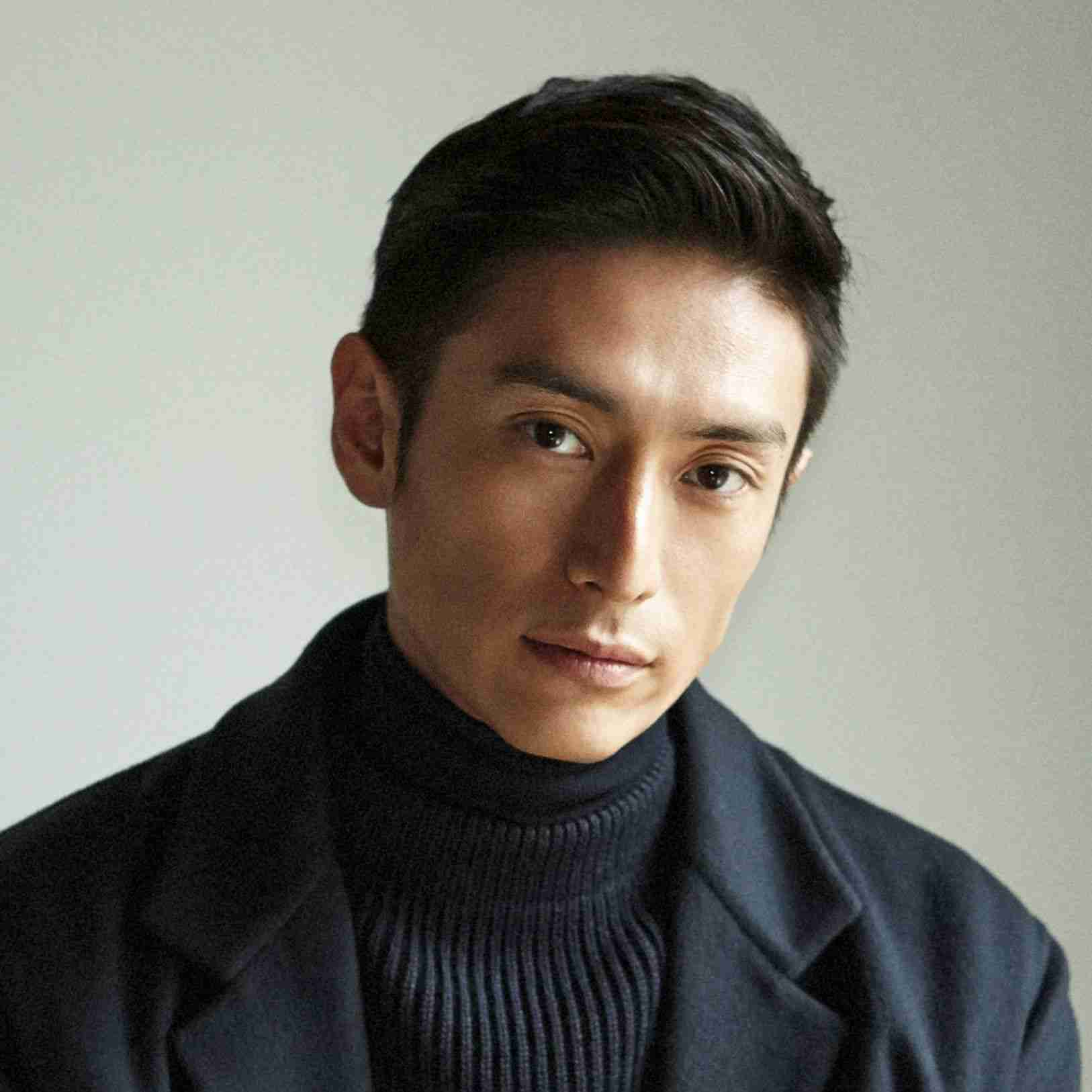 モデル出身の俳優