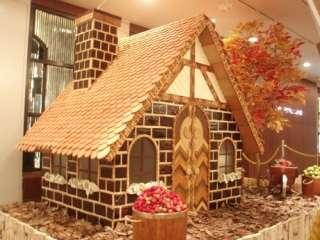 芸術的なお菓子の画像