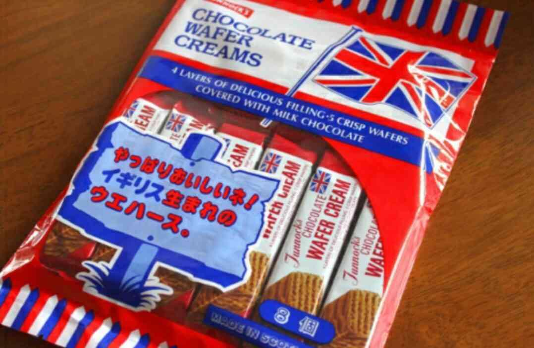 外国のお菓子。