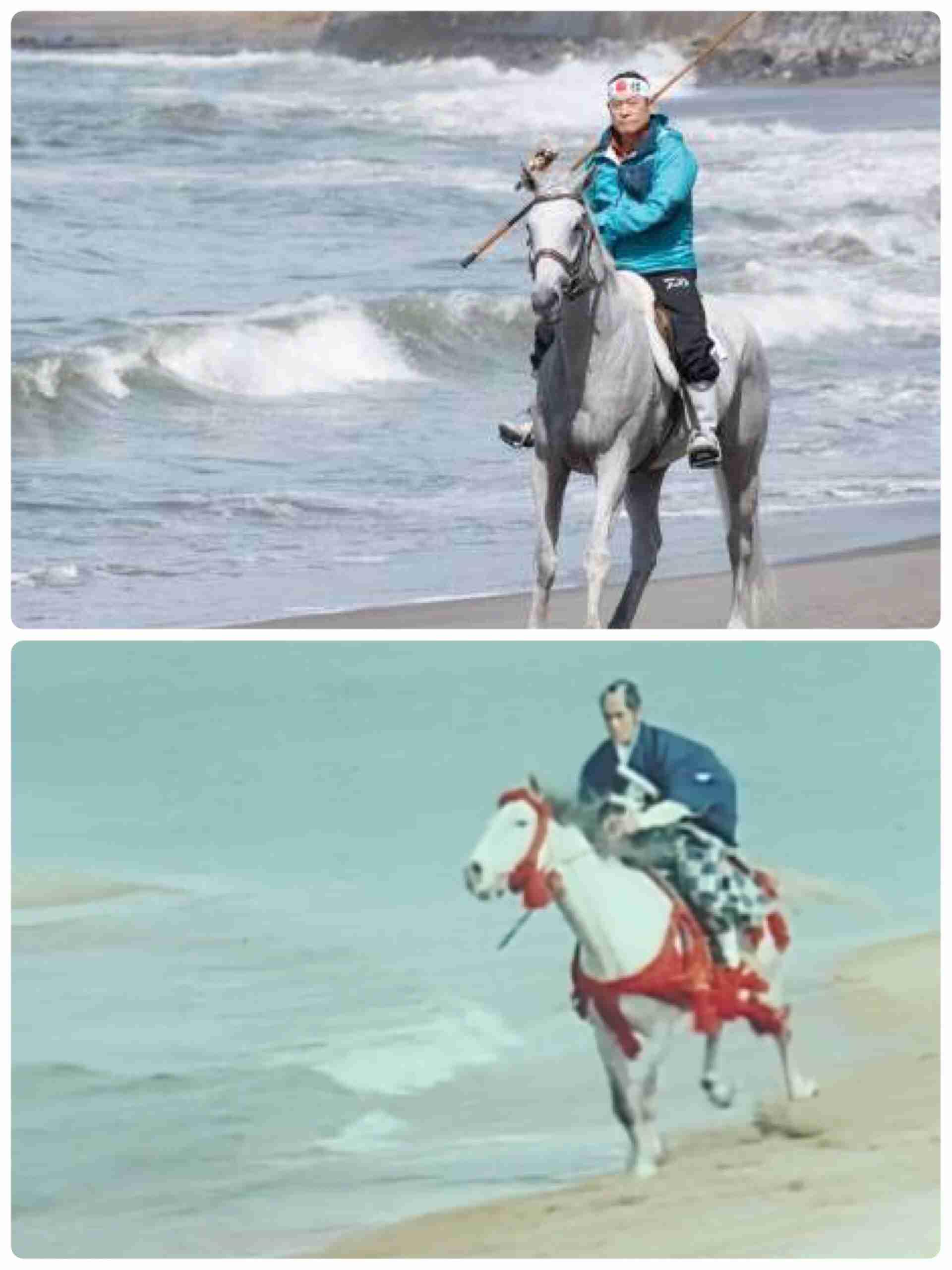 松平健、白馬に乗って『釣りバカ日誌』参戦「暴れん坊将軍を思い出しました」