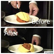オムライスのレシピ