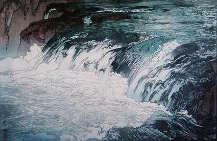 滝の画像で目の保養をするトピ♪
