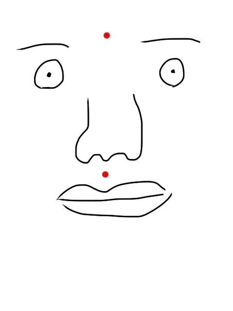 顎のニキビ