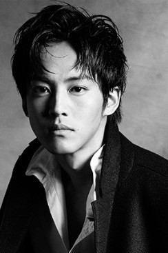 俳優のモノクロ(白黒)ポートレート画像