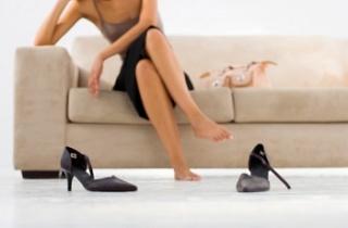 0時になったらお気に入りの靴を落としてください