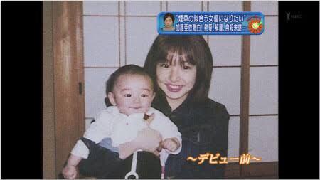 ダウンタウン&坂上忍、生後2ヶ月の鈴木亜美の息子を抱っこ