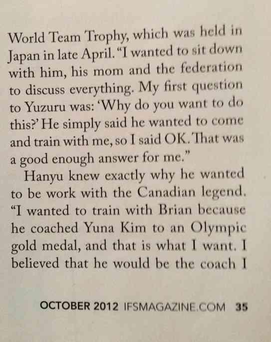 【フィギュア】羽生結弦の元コーチ「(17歳の羽生は)キム・ヨナと同じオーラを発していた。この子は本当に金メダルを取ると思いました」©2ch.netYouTube動画>1本 ->画像>60枚