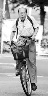 自転車乗ってる人にイライラすること