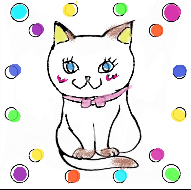 描いた絵に塗り絵してもらうトピ☆part3