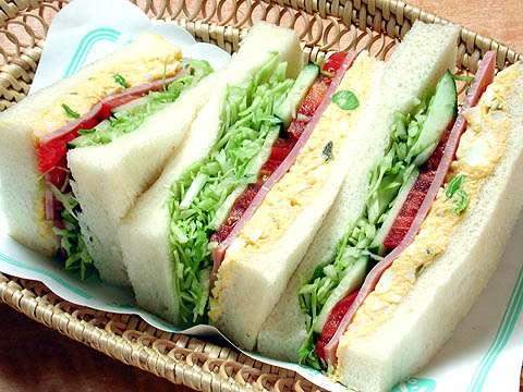 外食企業のおすすめサンドイッチ