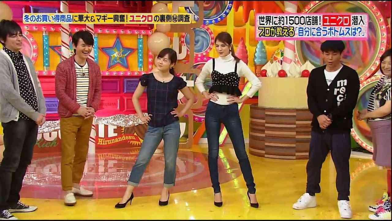 マギーの水着姿に大島優子「うへへかわいい」