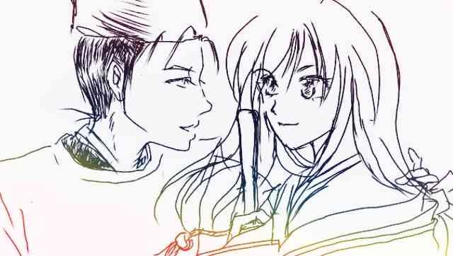 【絵トピ】少女漫画っぽい絵柄で絵を描く