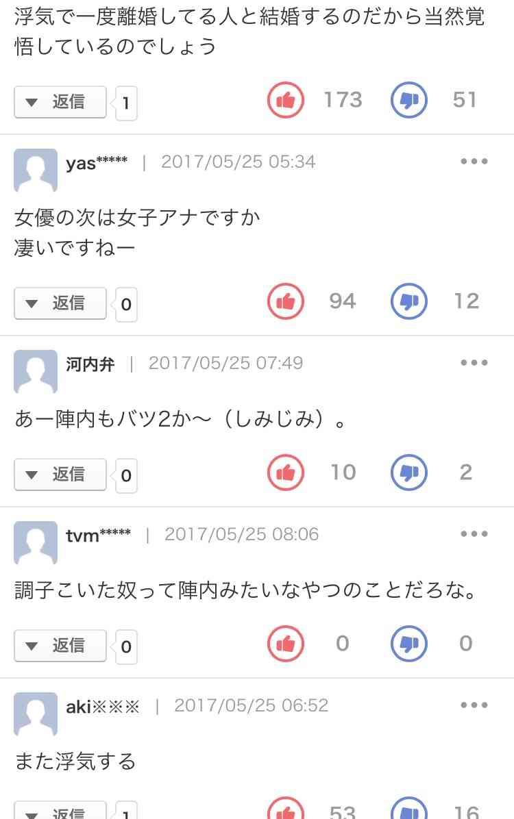 陣内智則&フジ松村未央アナ6月30日入籍へ 13年春から交際