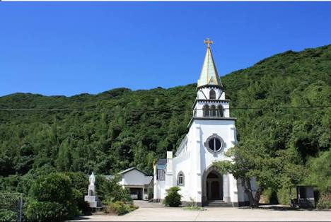 素敵な教会の画像
