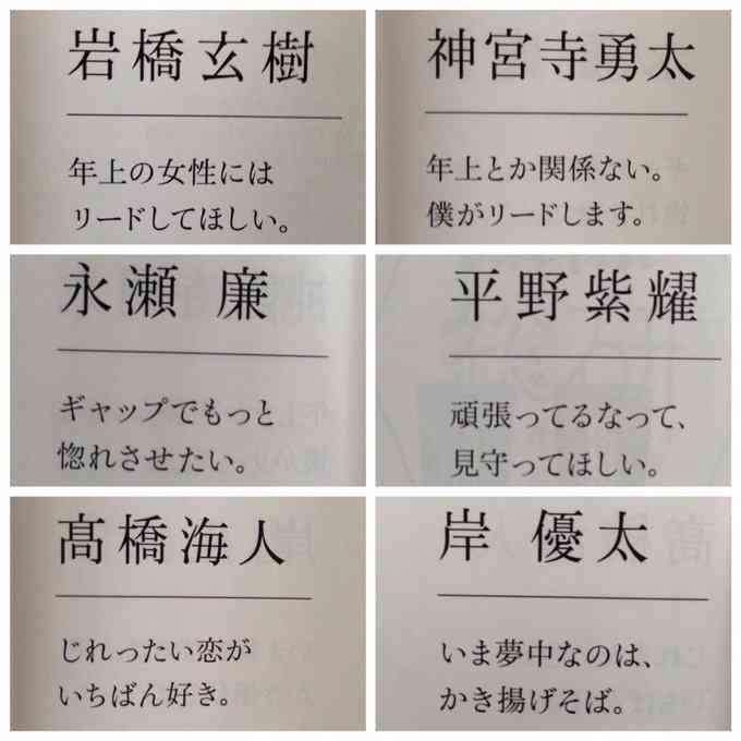 ジャニーズJr.が好きな人集合(^-^)