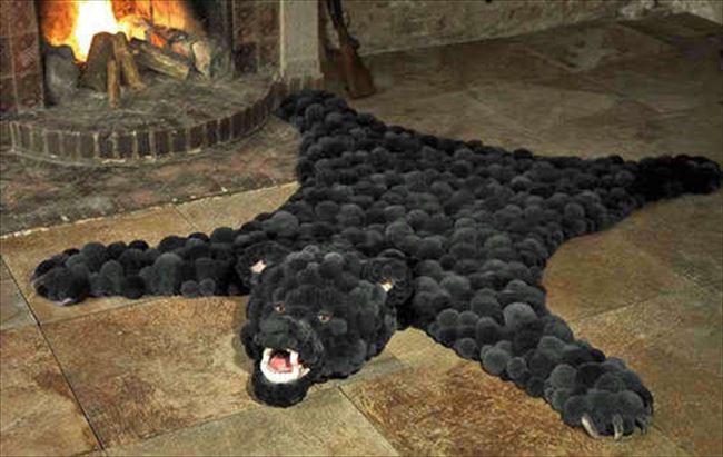 面白い絨毯を貼るトピ