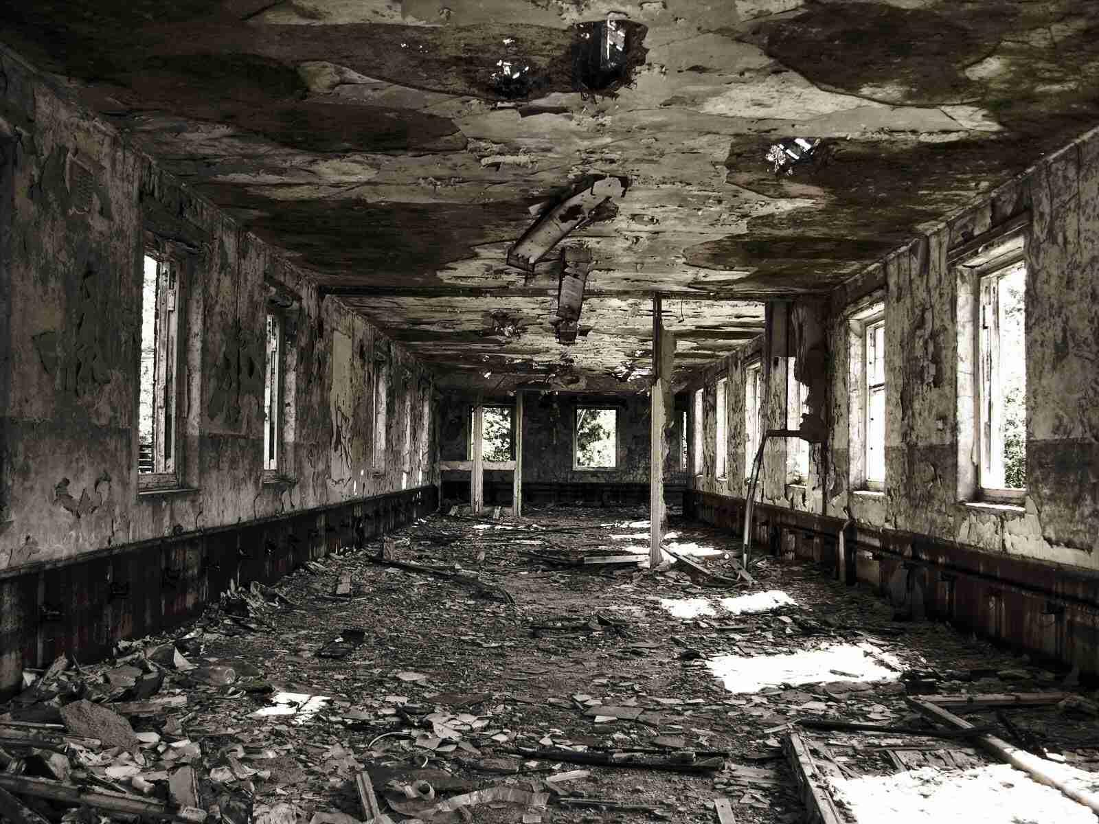 いろんな廃墟やスラムが見たい