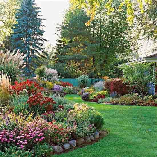 素敵なお庭の画像