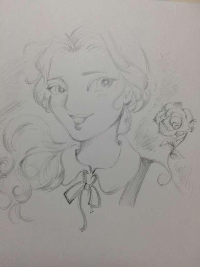 アナログでお絵描きするトピ