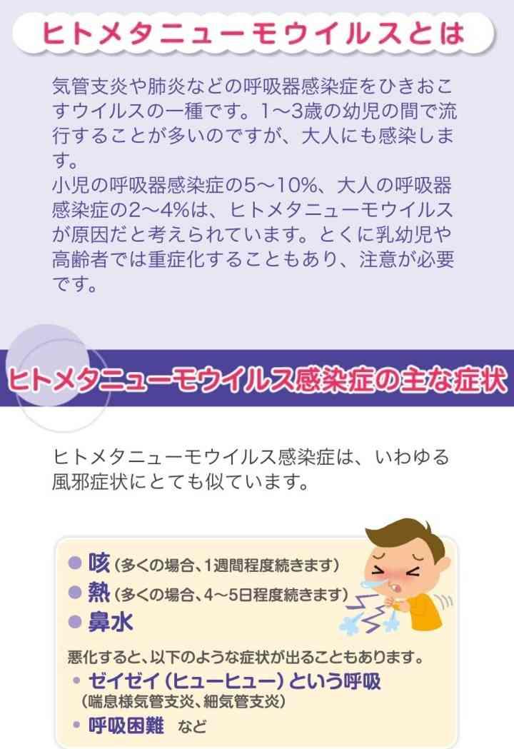 飯田圭織 次男がヒトメタニューモウイルス感染症