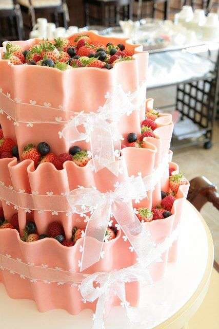 色んな♡ウェディングケーキ♡が見たい!