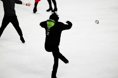 フィギュアスケーターのおもしろ写真