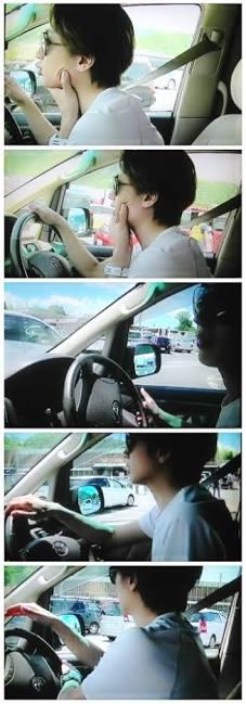 【画像】有名人が車の運転している姿が見たい!