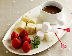 チョコレートフォンデュに合う具材