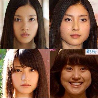 見るたびに顔が違う芸能人